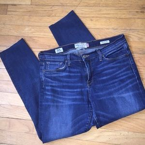 Lucky brand Brooke ankle skinny 10